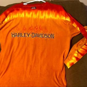 Long Sleeve Harley Shirt 🛑🛑 FINAL $$ !!